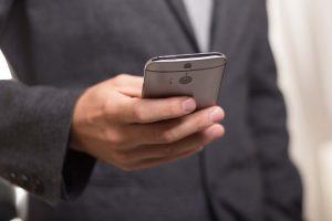Smartphone Interaktion